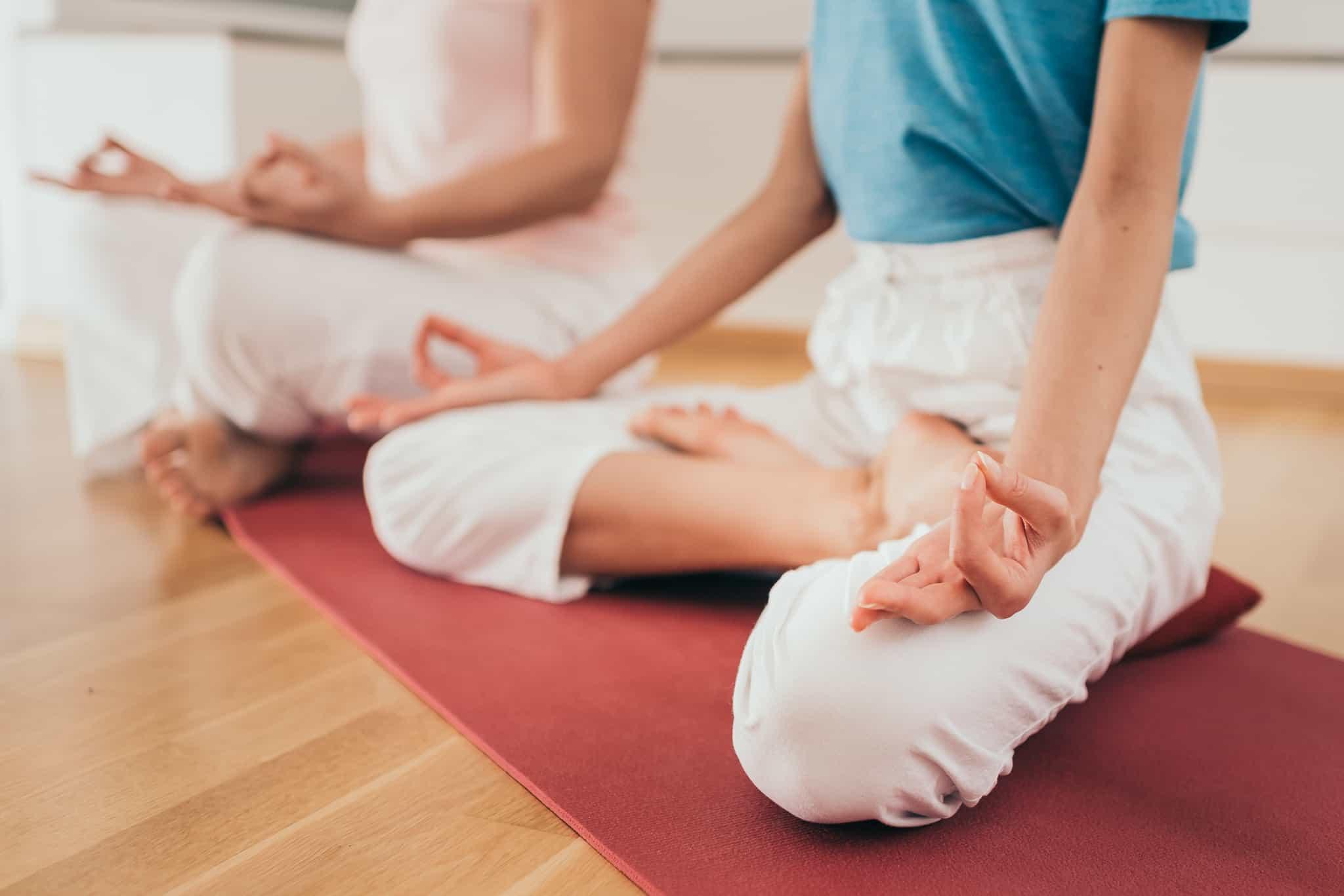 Meditacija grupėje gyvai